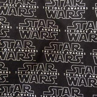Star Wars letras fundo preto