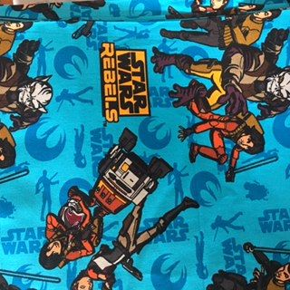 Star Wars fundo azul sombras