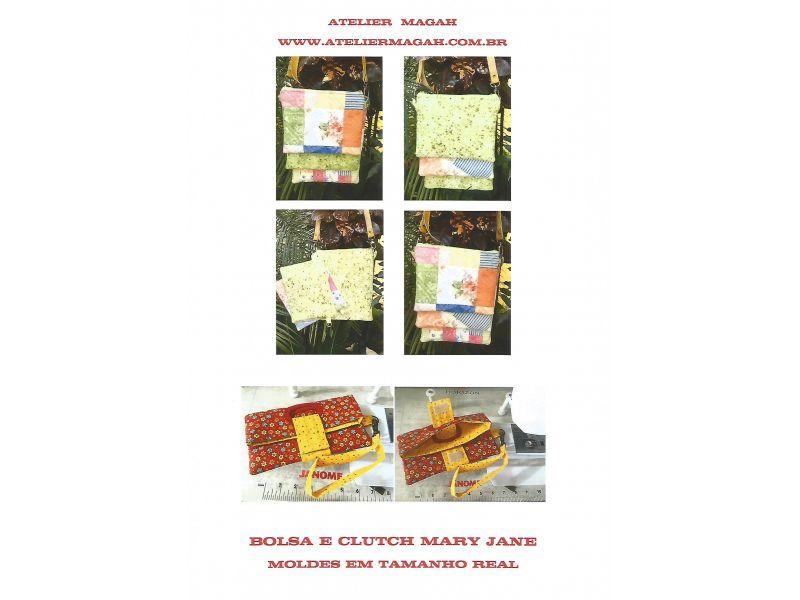 Bolsa e Clutch Mary Jane