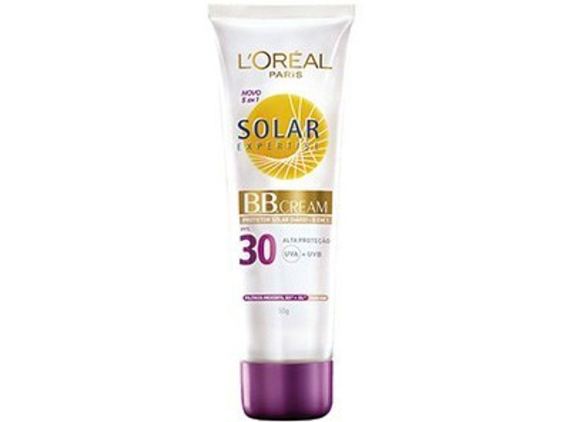 bb cream l'oreal paris solar expertise sun