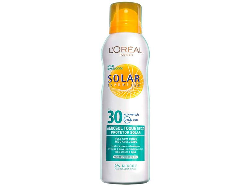 protetor facial l'oreal paris solar expertise toque seco fps30 50ml