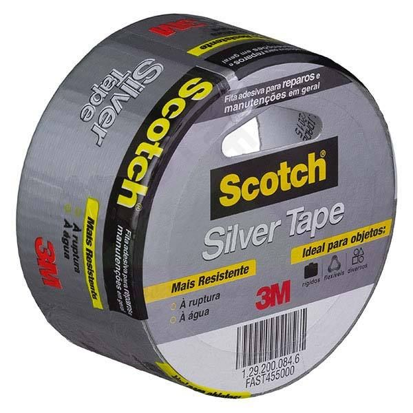 FITA SILVER TAPE 3M 50MM 5 MT