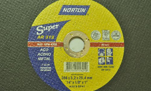 Disco De Corte 356x3,2x25,4mm  Norton