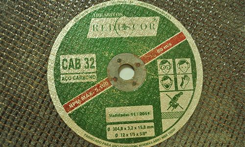 Disco de corte 304,8x3,2x15,8mm  REDESCOR