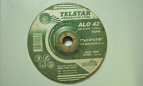 Disco Desbaste 177,x8x6,4x22,2mm Telstar