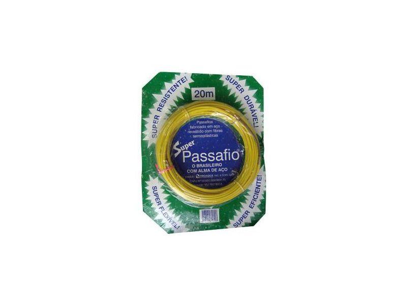 PASSA FIO C/ALMA DE ACO 20MTS