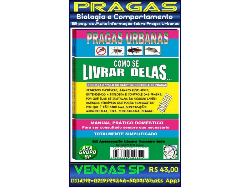 Livro de Pragas Urbanas-158 páginas-Bill Andersen/Dr. Lázaro C. Neto