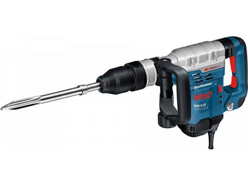 Martelete Sds-Max 1150w 5,8k 220v Gsh 5 Ce Rompedor Bosch - 220 V
