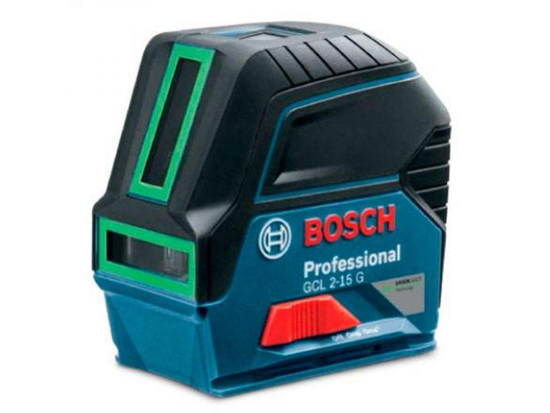 Nível a laser verde com 2 linhas e 2 pontos de prumo - GCL 2-15G Bosch