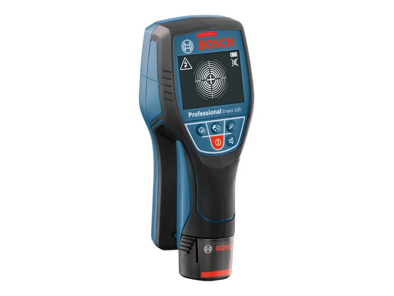 Detector De Materiais E Pvc Com Água D-Tect 120 À Bateria 10,8v C/ Maleta E Carregador Bosch