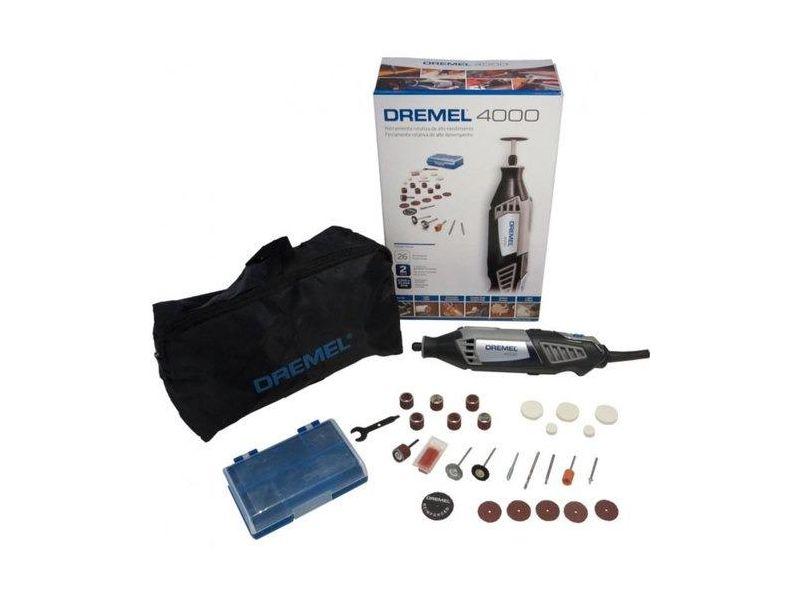 Kit Micro Retífica Com 26 Acessórios - 4000 - Dremel (220v)