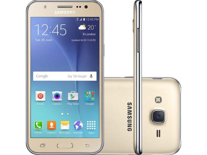 Smartphone Samsung Galaxy J5 Duos Dual Chip Android 5.1 Tela 5