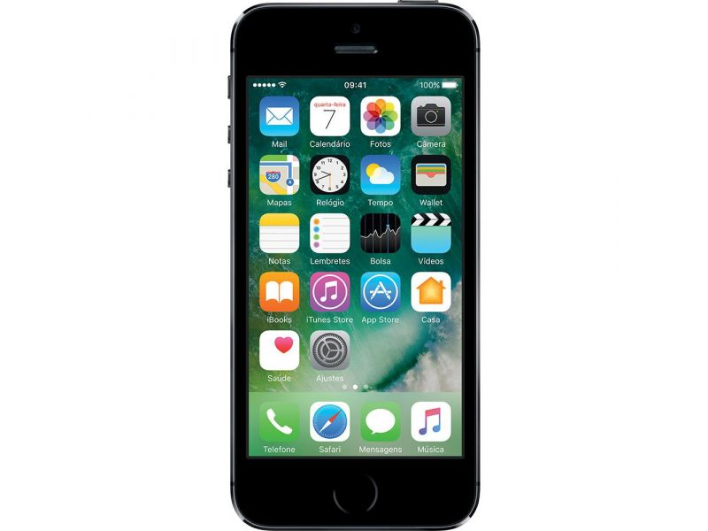 iPhone 5S 16GB Cinza Espacial Tela 4