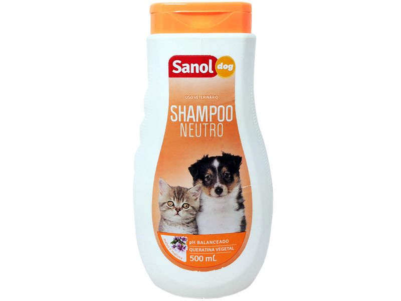 Shampoo Neutro Sanol - 500ml