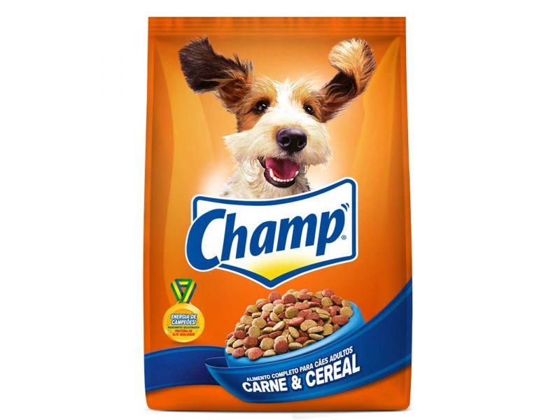 Ração Champ Carne e Cereal Adulto - 20Kg