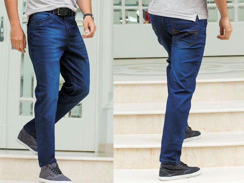 Calça Jeans Azul Masculina