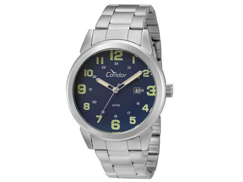 Relógio Condor Militar CO2115UL/3A Prata