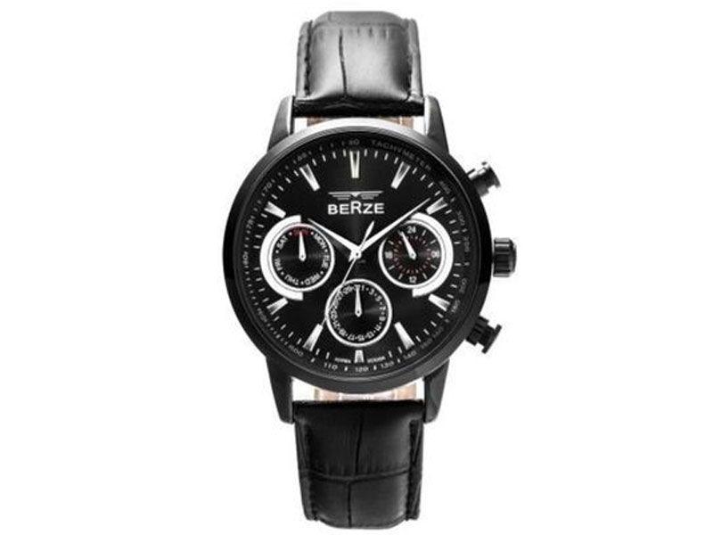 Relógio Berze Analógico Bs024 Preto