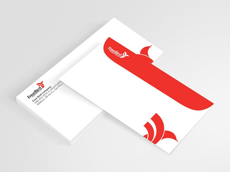 50 Envelopes Profisionnais Empresa