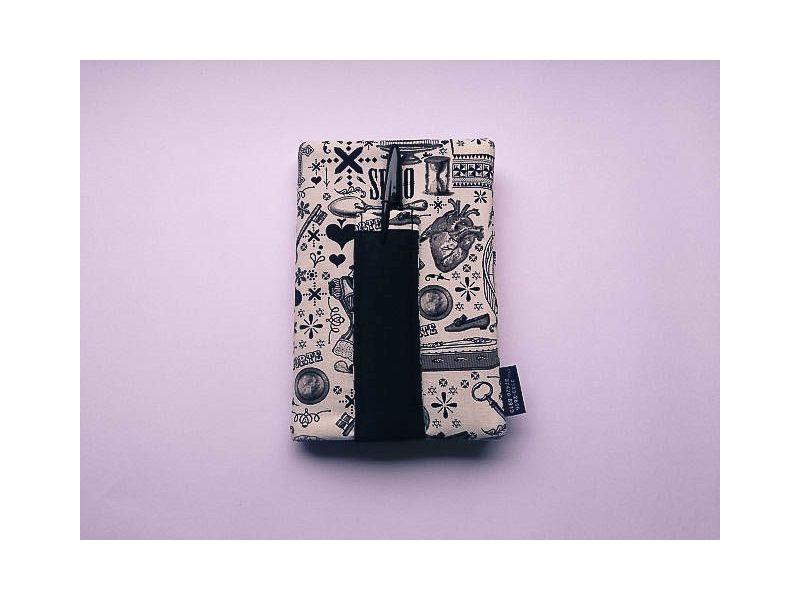 Caderneta em patchwork