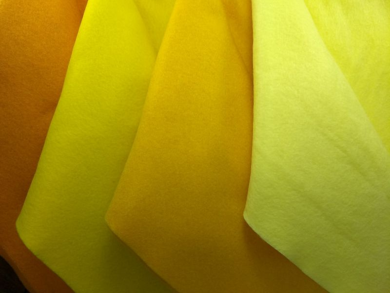 TONS DE AMARELO - YELLOW 50 x 1,40cm