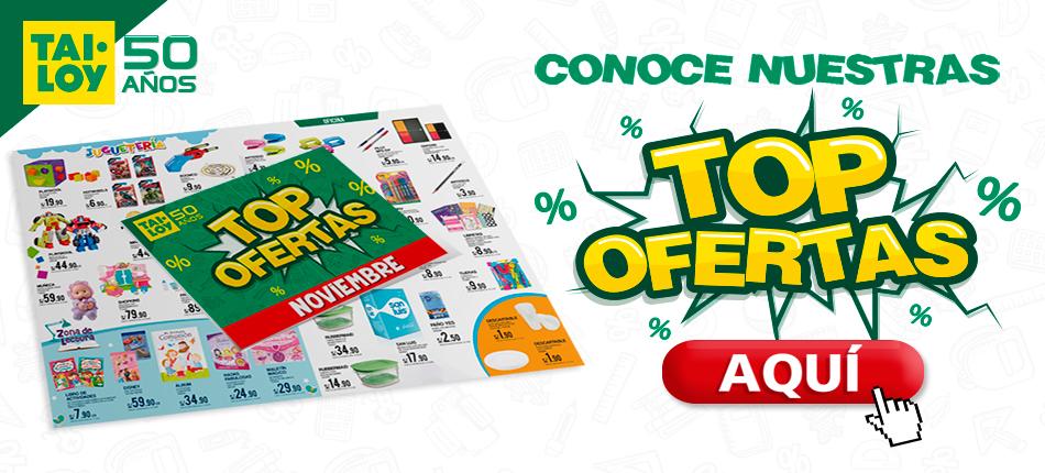 TAI LOY, Conoce nuestras top-ofertas por el mes de Noviembre ingresando a nuestro Encarte Digital. Haz click aqu�.