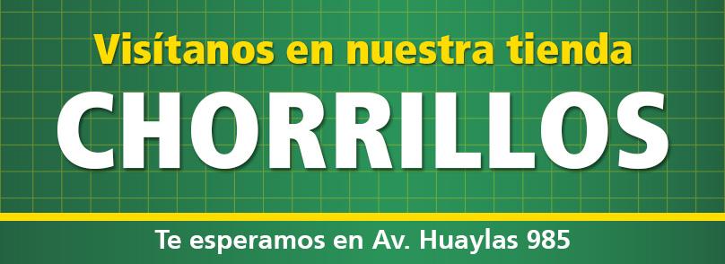 TAI LOY, Ahora también en Chorrillos, Te esperamos en Av. Huaylas 985.