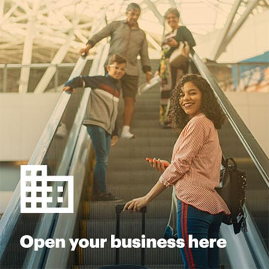 Open your business here
