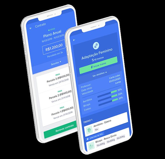 Personal - Ficha de Treino e Pagamento via App