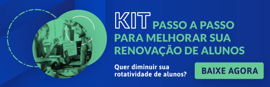 banner kit para melhorar a renovação de alunos