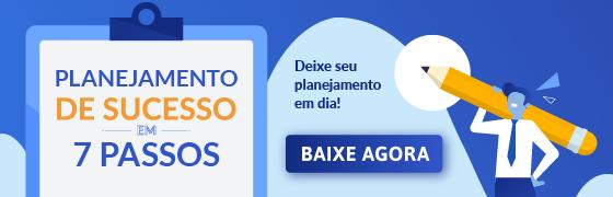 banner planejamento de sucesso em 7 passos