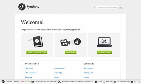 Instalando e Configurando o Symfony