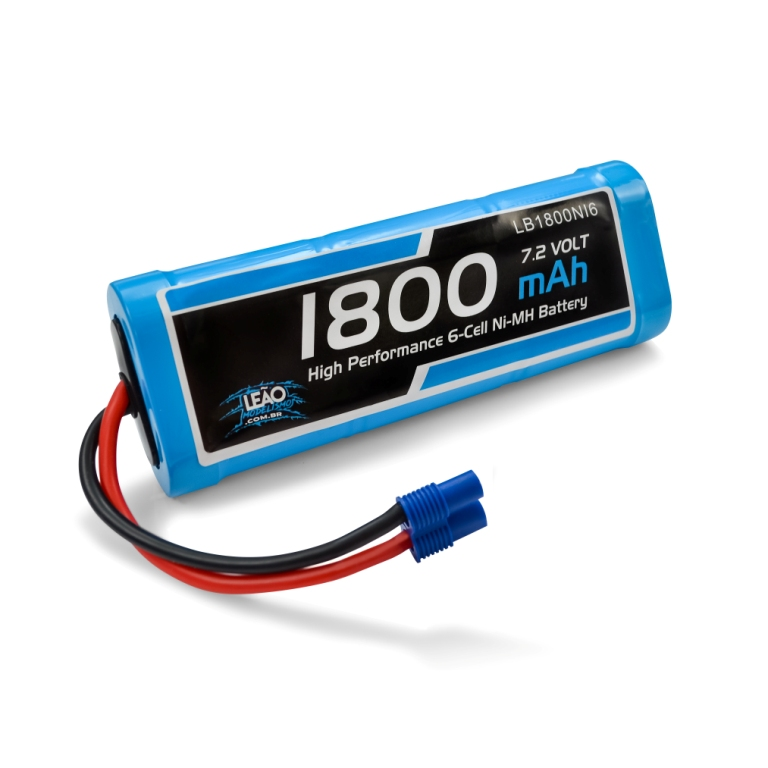 Bateria NIMH - 7.2V - 1800mAh - 7.2V - EC3