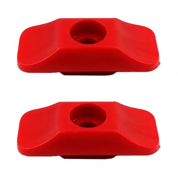 Botão Trava Porta Mb 608 708 - Par