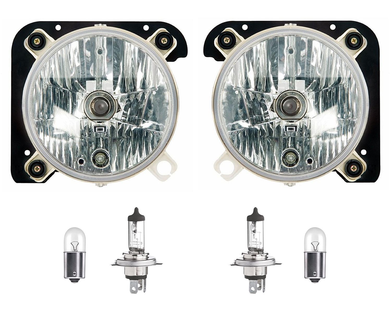Farol Vw Delivery 5140 8150 8160 9150 9160 10160 de 2005 a 2017 com lâmpadas 12V - Par