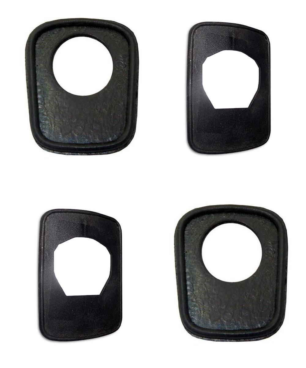 Borracha Maçaneta Porta Mb 709 710 1214 1418 1618 1630 1935 1941 - Kit Para Dois Lados