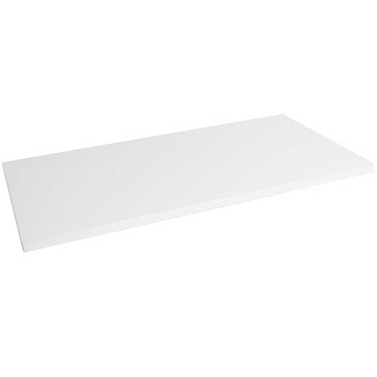 Prateleira decorativa em MDP suporta até 15kg 90x25cm Branca