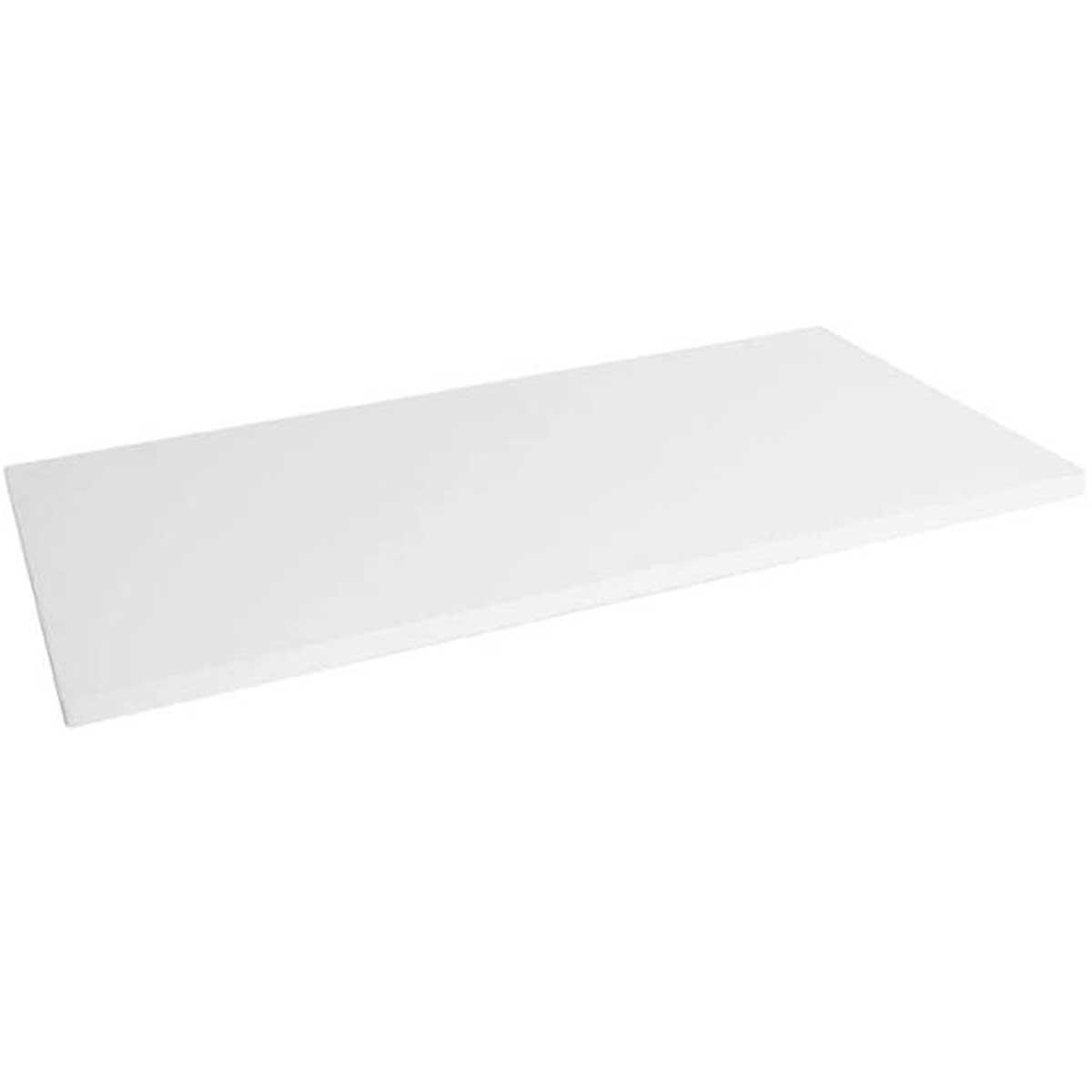 Prateleira decorativa em MDP suporta até 15kg 60x30cm Branca