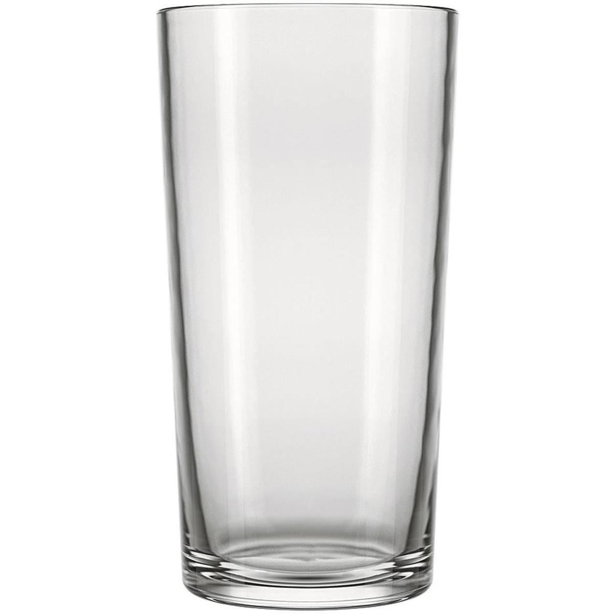 Copo para vitamina 390ml alto em vidro Transparente
