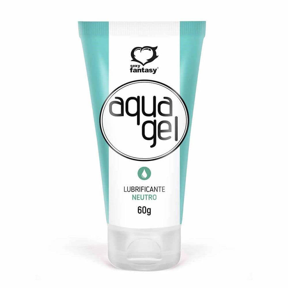 Aquagel Gel Lubrificante Neutro 60G Sexy Fantasy