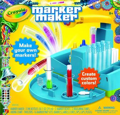 Fábrica de Canetinhas Marker Maker Crayola
