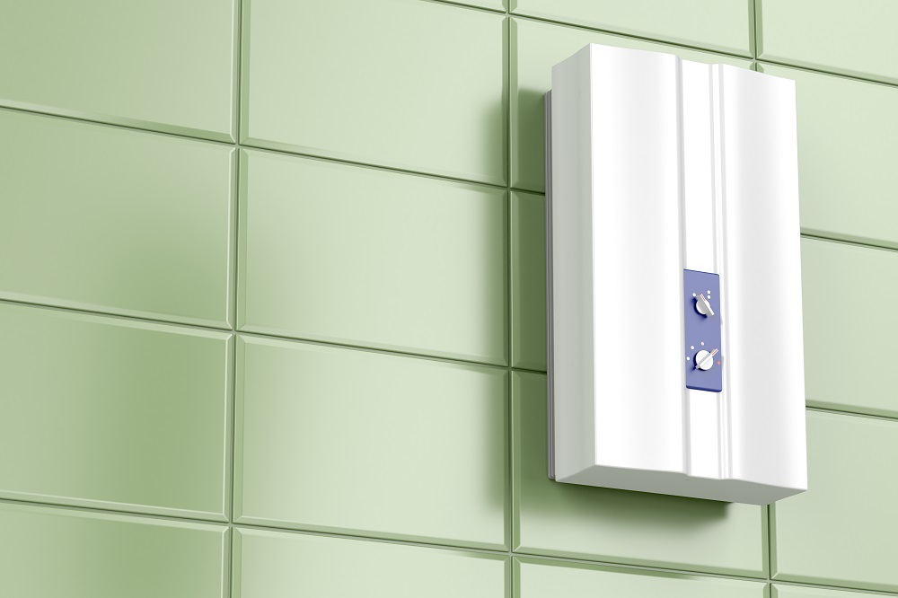 local adequado para instalação de aquecedor a gás