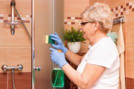 como limpar box de banheiro, como limpar box de vidro