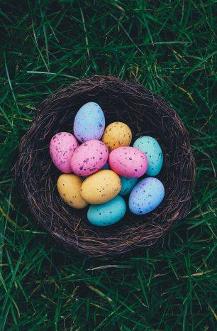 Descubra como fazer uma Decoração de Páscoa sem gastar + diversão com as crianças