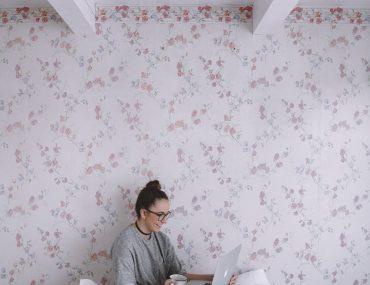 como aplicar papel de parede, tipos de papel de parede