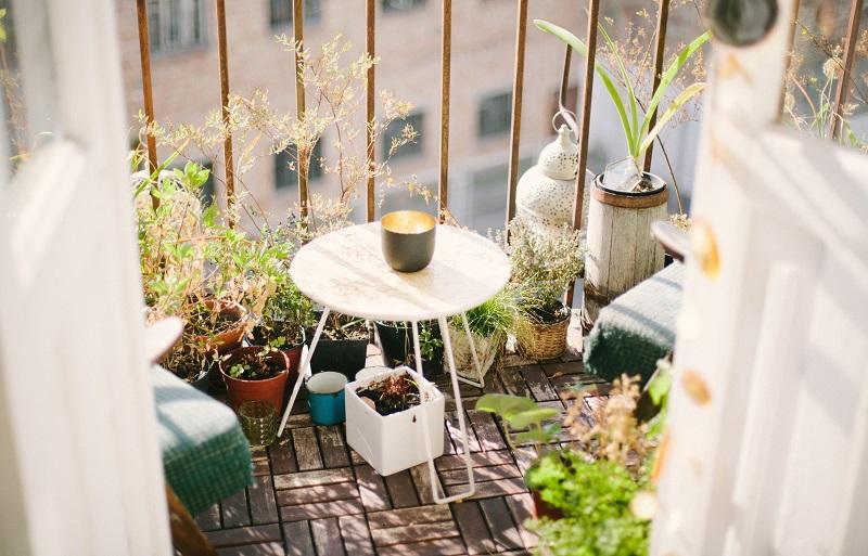 decoração de varanda, decoração de sacada