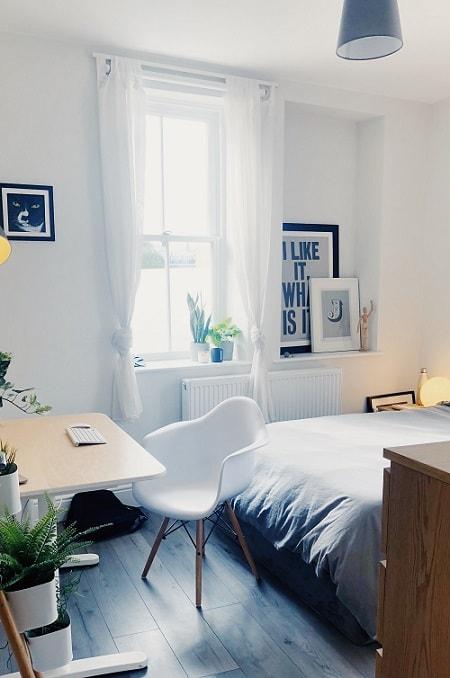 iluminação residencial, iluminação para quarto, luz branca ou amarela