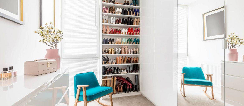 como organizar sapatos, como guardar sapatos, organização de sapatos