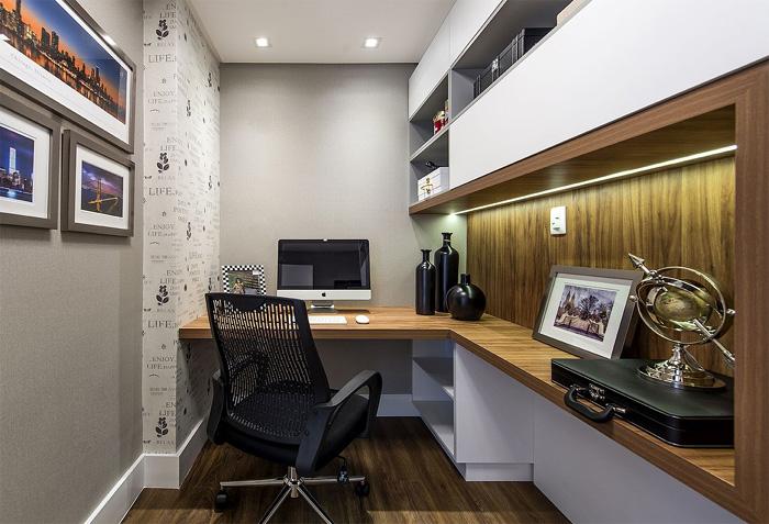 papel de parede para home office