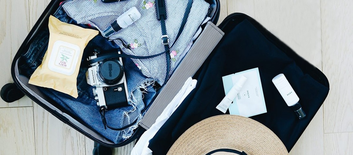 Como arrumar uma mala organizada